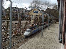 spoorwegmuseum treintje